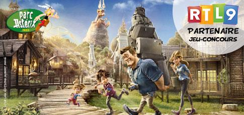 Parc asterix ciné family 2018